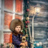 Новогодняя открытка :: Ирина Митрофанова студия Мона Лиза