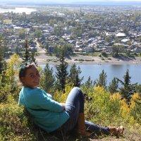 Вид на город :: Таня Фиалка