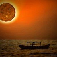 Мьянма. Закат чужого светила в Нгапали :: Андрей Левин