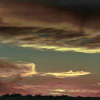 Небесная акварель :: Лариса Димитрова