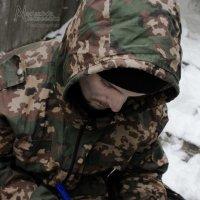 Пишет письмо домой, с войны :: Надежда Алексеенко