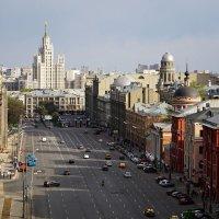 Вид с крыши Центрального Детского Мира. :: Сергей Калмыков