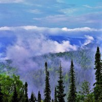 Утреннее дыхание тайги :: Сергей Чиняев