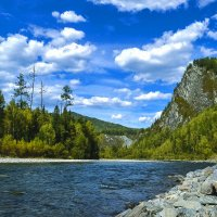 Река Она. :: юрий Амосов