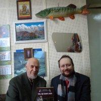 Днепровские читатели-писатели Алексей и Михаил Арошенко... :: Алекс Аро Аро
