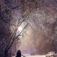 Вечер, ветер, снег и лёд... :: Александр Орлов