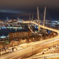 """""""Золотой мост"""", Владивосток :: Алексей Некрасов"""