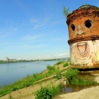 Водонапорная башня Куйбышевской водонапорной станции на ул. Черниговская в Н.Новгороде :: Андрей Головкин