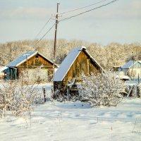 зимнее утро в деревне :: Tatyana Belova