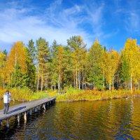 Фотограф на Даниковском озере :: Валерий Талашов