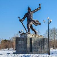 Памятник военным строителям Особого строительного корпуса. :: Виктор Иванович