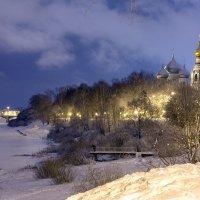 Облачно-снежно... :: Татьяна Копосова