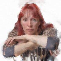 Автопортрет стилизованный под акварель :: Светлана Тремасова