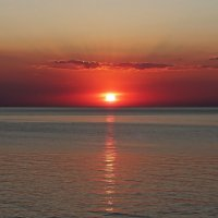Закат на море :: Антонина Петлевская