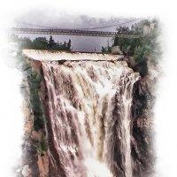 Водопад Летом :: Alexander Dementev