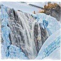 Водопад Зимой :: Alexander Dementev