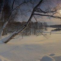 Только-только рассвело...утро зимнее пришло 2 :: Сергей Жуков