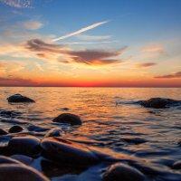 вечер... море.... закат.. :: Oksana Verkhoglyad