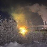Морозная ночь... :: Витас Бенета