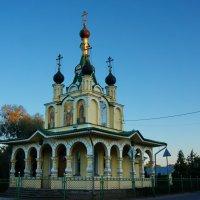 Церковь Иконы Божией Матери Всех Скорбящих Радость в Сергиево :: Валентина Папилова