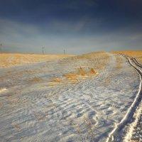 Туда, где на снегоходе только :: Сергей Жуков