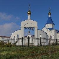 Храм с.Покровка :: галина северинова