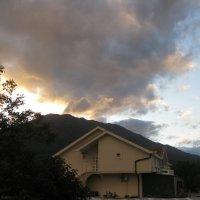 Черногория. Закат в горах. :: Лариса (Phinikia) Двойникова