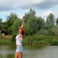 Радостный полет :: Антонина Ягущина