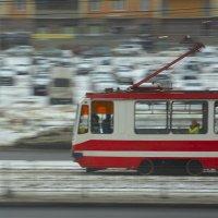 Одиночный пассажир (вид из окна) :: Наталия П