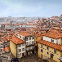 Вид на Порту в дождливый день :: Ирина Лепнёва
