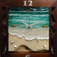 Часы с морской темой :: Вера Щукина