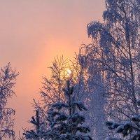 Морозный восход :: Галина