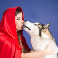 И кто сказал, что волки не могут любить? :: Julia