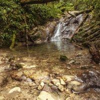 Верхний каскад 33 водопадов :: Юрий Клишин