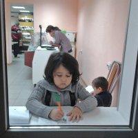 Пока мама работает... :: Марина Marina