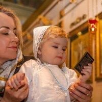 взгляд на своего Святого покровителя :: Мария Корнилова