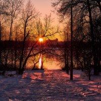 зимний закат :: Дмитрий Булатов