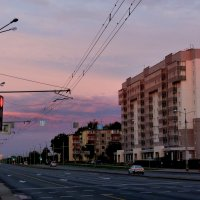 предзакатная улица :: Александр Прокудин