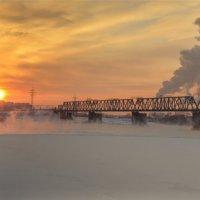 Закат в Новосибирске :: cfysx