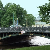 1-й Садовый мост через Мойку :: Елена Павлова (Смолова)