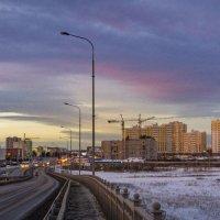 Ноябрь... вечер... закат... :: Pavel Kravchenko