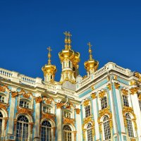 Воскресенская церковь Екатерининского дворца... :: Sergey Gordoff
