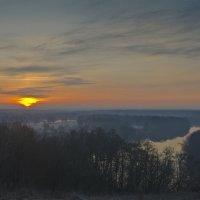 Рассвет над Андреевским лугом :: Александр Березуцкий (nevant60)