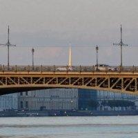 Мост,река и свет :: Владимир Гилясев
