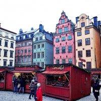 Рождественская ярмарка в Стокгольме :: Swetlana V