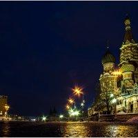 Храм Василия Блаженного и Спасская башня Московского Кремля :: Сергей Секачёв