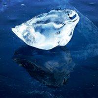 Нерукотворная лягушка. Ледяные скульптуры Байкала :: Нина