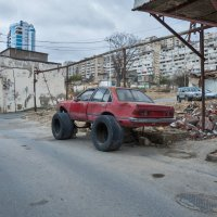 Старый внедорожник. :: Ирина Токарева