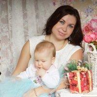 Мама и дочка :: Елена Мордасова