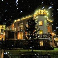 то ли снег, то ли дождь.. может звезды с неба упали.. :: Елена Ом